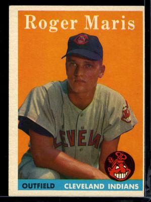 Roger Maris Baseball Card Topps 1958